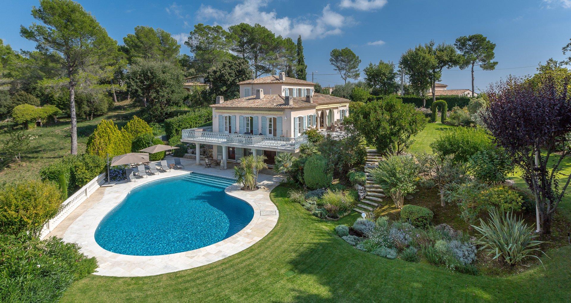 Ad Seasonal Rental Villa Valbonne 06560 7 Rooms 10 Capacity 270 M Tre Carr John Taylor