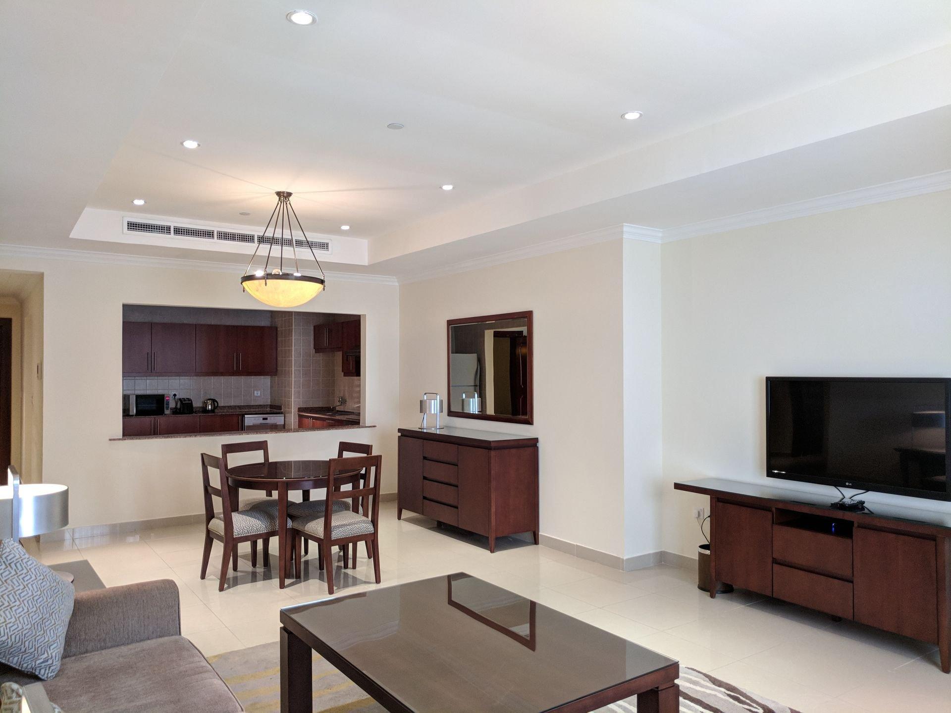 Ad Rental Apartment Doha The Pearl, 1 Rooms ref:L1232DA