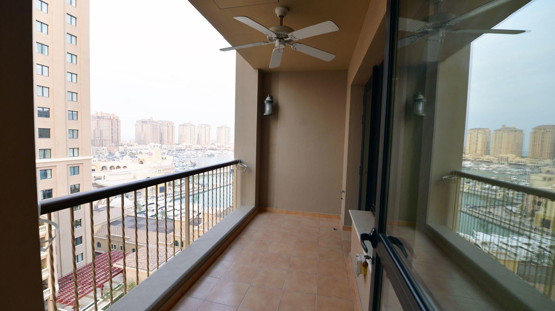 Ad Rental Apartment Doha The Pearl, 1 Rooms ref:L1637DA