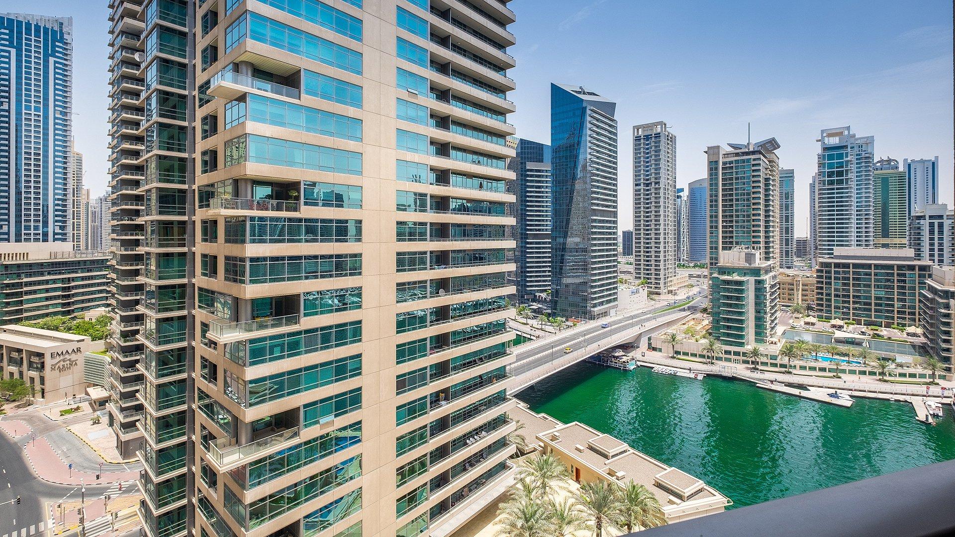 Ad Rental Apartment Dubai Marina Al Sahab Tower ref:L0377DU