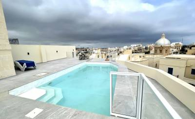 Rental Penthouse Kalkara