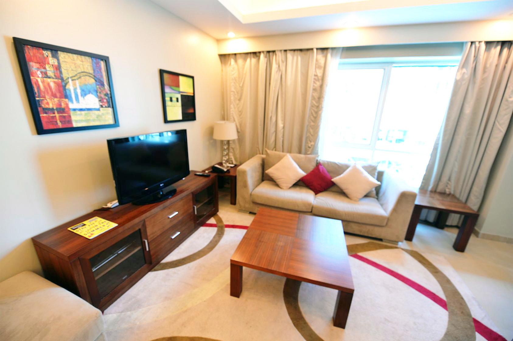 Ad Rental Serviced apartment Doha, 1 Rooms ref:L0943DA