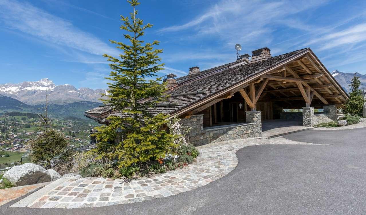 Seasonal rental Chalet Combloux
