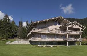 Seasonal rental Chalet Crans-Montana