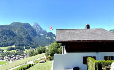 Seasonal rental Chalet Saanen