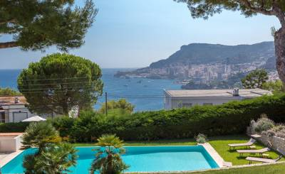Seasonal rental House Roquebrune-Cap-Martin
