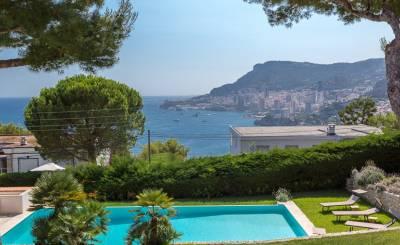Seasonal rental House Roquebrune-Cap-Martin