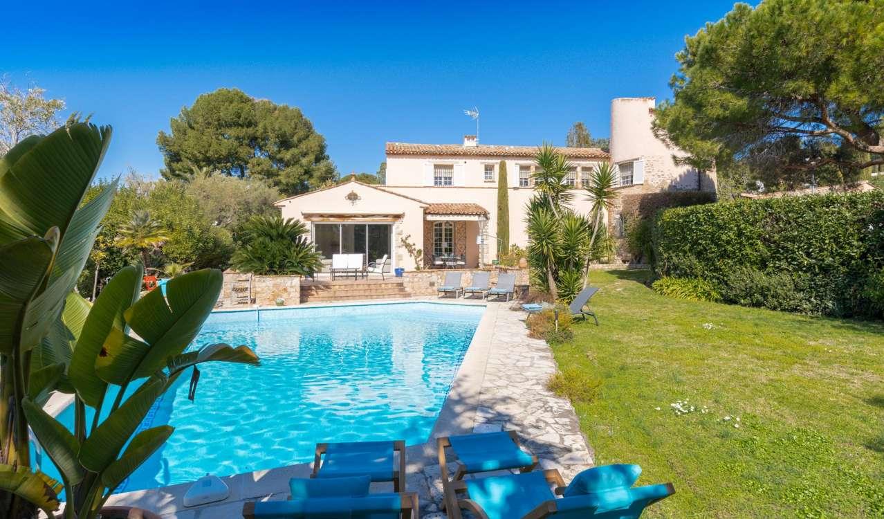 Seasonal rental Villa Cap d'Antibes