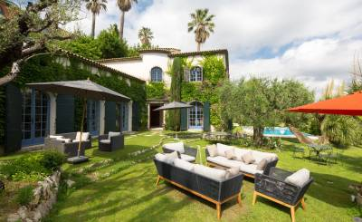Seasonal rental Villa Grasse