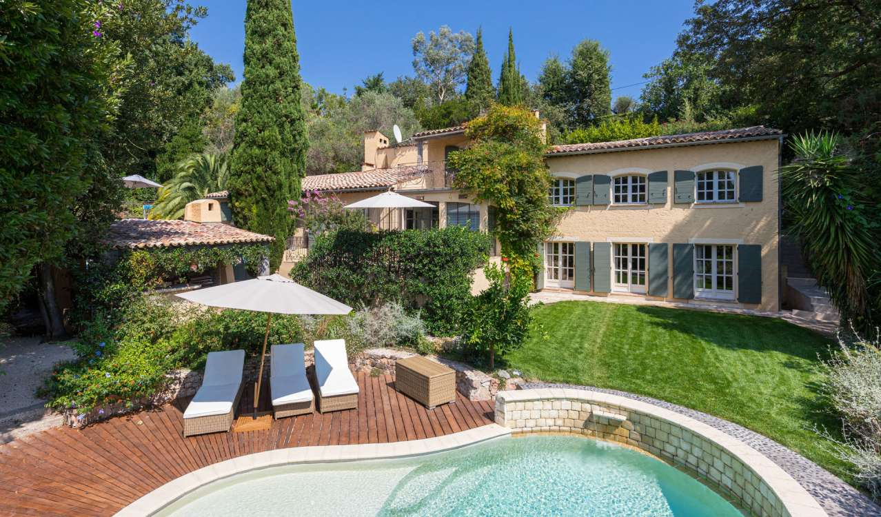 Seasonal rental Villa Mougins