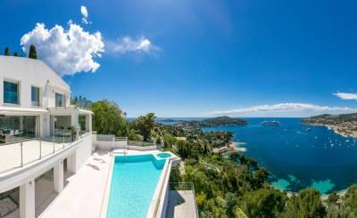 Seasonal rental Villa Villefranche-sur-Mer
